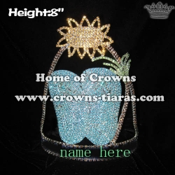 Crystal Blue Slipper Pageant Summer Crowns