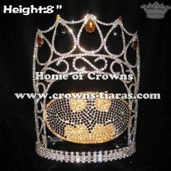 Wholesale Batman Shaped Crystal Pageant Crowns