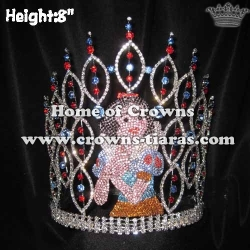 Crystal Snow White Pageant Crowns Queen Crowns