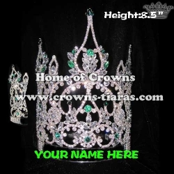 8.5inch Crystal Custom Made Crowns