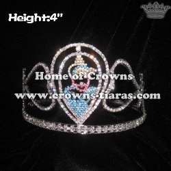 4in Princess Pageant Kids Crowns