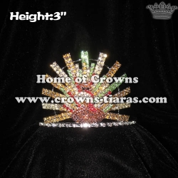 Crystal Turkey Christmas Pageant Crowns