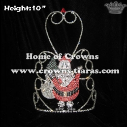 Happy Santa Claus Christmas Crowns