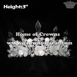 3in Height Crystal Unique Crowns And Tiaras