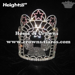 Wholesale Crystal Custom Mickey Pageant Crowns