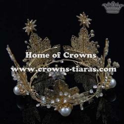 Full Round Children Crown With Stars
