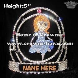Gorgeous Girl Custom Crowns
