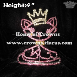 4inch Cute Cat Princess Crowns