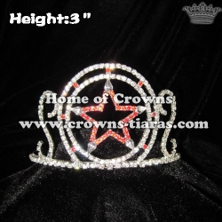 3inch Star Shaped Crystal Princess Crown
