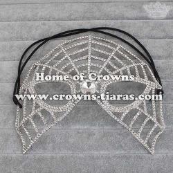 Halloween Crystal Spikewebs Masquerade Mask