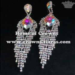 Fashion Rhinestone Diamond Wedding Earrings