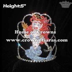 Crystal Mermaid Pageant Princess Crowns