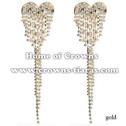 Wholesale Crystal Wedding Earrings