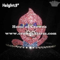 3in Crystal Trolls Pageant Crowns