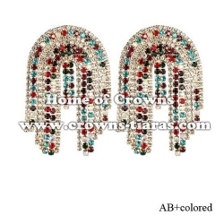 Wholesale Crystal Rhinestone Fashion Earrings