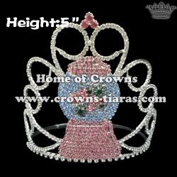Crystal Snowman Crowns