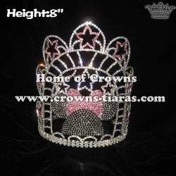 Custom Crystal Minnie Pageant Crowns