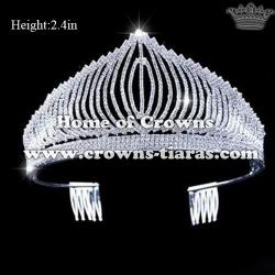 High Quality Rhinestone Pageant Tiaras