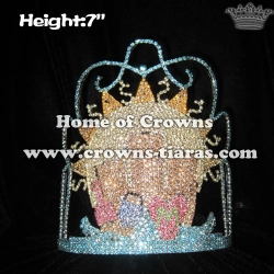 Wholesale Custom Crystal Summer Beach Pageant Crowns