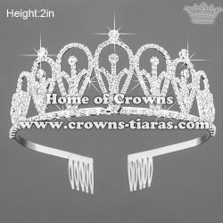 Hot Selling Crystal Rhinestone Princess Crowns