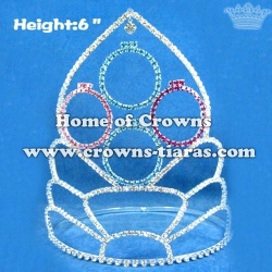 6inch Cartoon Custom Pageant Crowns