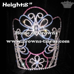 Crystal Butterfly Princess Crowns
