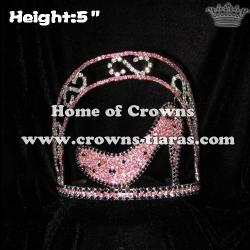 Pink Black High Heel Crowns