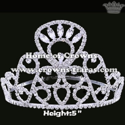 5inch Wholesale Cheaper Pageant Crowns
