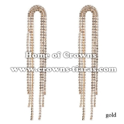 Long Rhinestone Fashion Lady Earrings