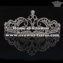 Wholesale Beauty Crystal Wedding Tiaras Peace Love Diamonds