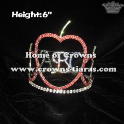 Letter Of ABC Apple Crowns---Back to school Pageant Crowns