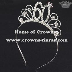 Fashion Alloy Crystal Princess Birthday Crowns