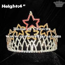 4inch Star Rhinestone Pageant Crowns