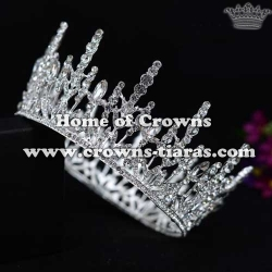 Wholesale Crystal Full Round Pageant Crowns