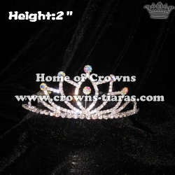 2inch Mini Crystal Crowns
