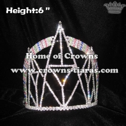 Wholesale Bridge Crystal Pageant Crowns