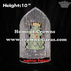 10in Height Wholesale Custom Frog Pageant Crowns