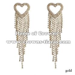 Wholesale Rhinestone Party Queen Earrings