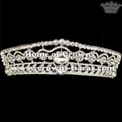 Wholesale Rhinestone Wedding Diamond Tiaras