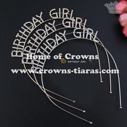 Fashion Rhinestone BIRTHDAY GIRL birthday tiaras