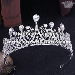 Crystal Diamond Wedding Tiaras