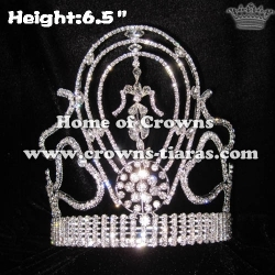 Wholesale Crystal National Pageant Queen Crowns