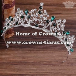 Beauty Bridal Tiaras With Colored Diamonds