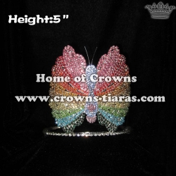 Butterfly Rhinestone Pageant Crowns