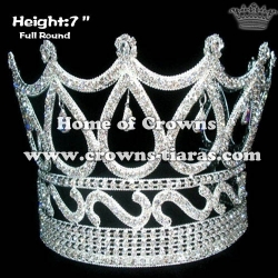 6inch Large Heart Round Crowns