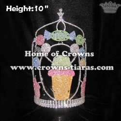 Sweet Candy Crystal Pageant Crowns