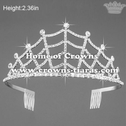 Wholesale Crystal Small Pageant Crowns
