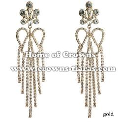 Rhinestone Fashion Show Earrings