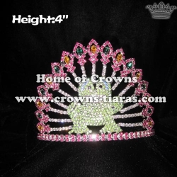 Frog Crystal Pageant Crowns