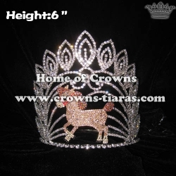 Wholesale Crystal Horse Animal Pageant Crowns